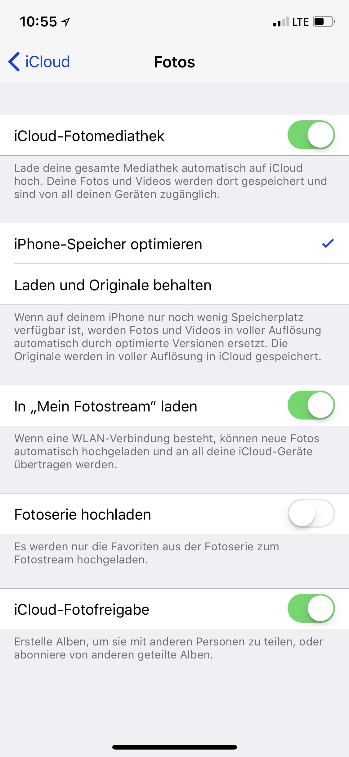iphone speicher aufräumen