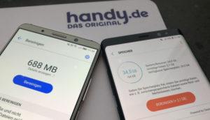 Android-Handy Speicherplatz