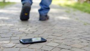 Android-Smartphone verloren