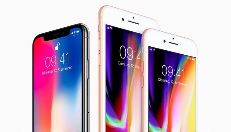 Apple iPhone-Vergleich