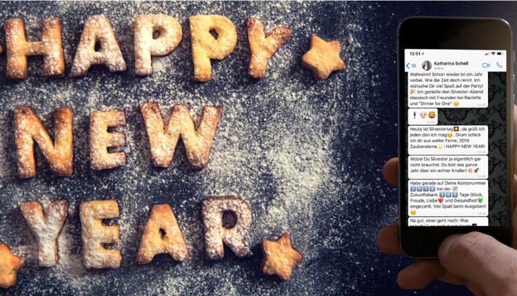 Silvester und Neujahrssprüche