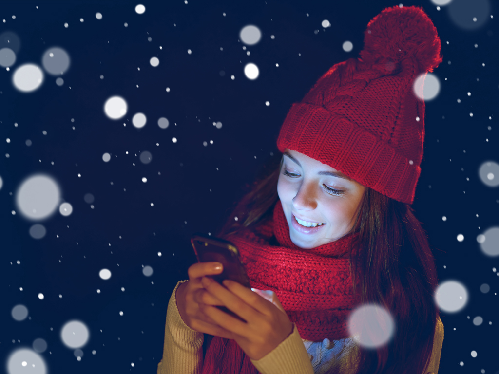 WhatsApp-Sprüche zu Weihnachten