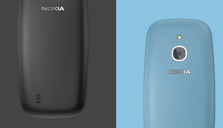 Nokia 3310 4G Schwarz und Blau
