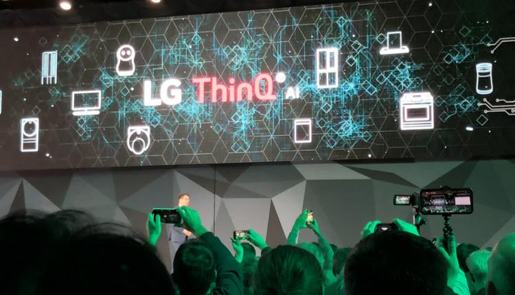 LG OPK CES 2018 - ThinQ