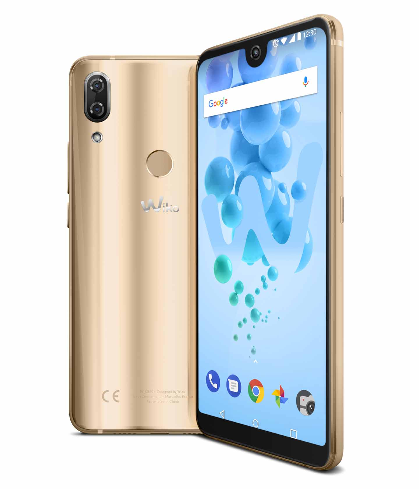 Wiko View 2 Pro der Farbe Gold