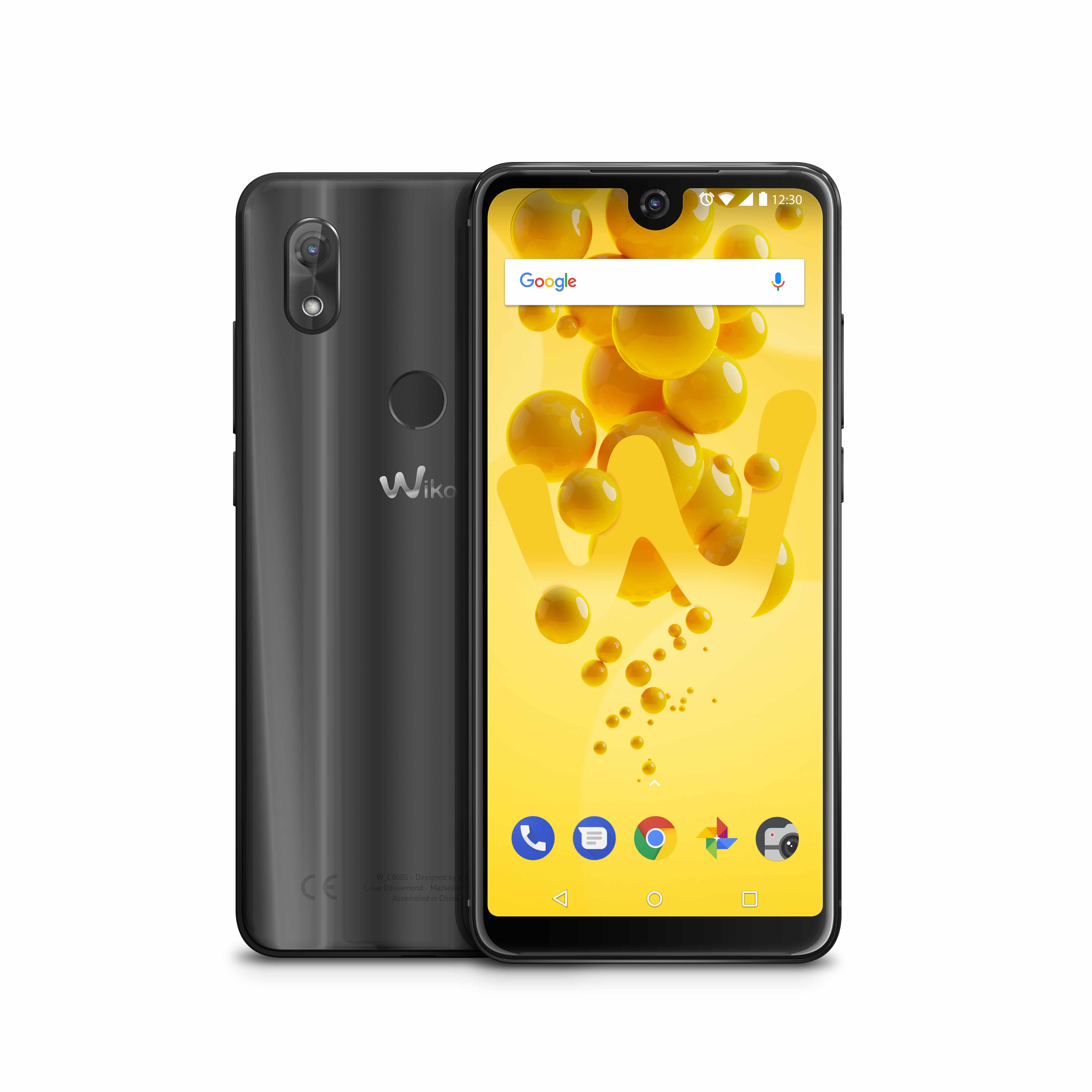 Wiko View 2 in der Farbe Anthracite