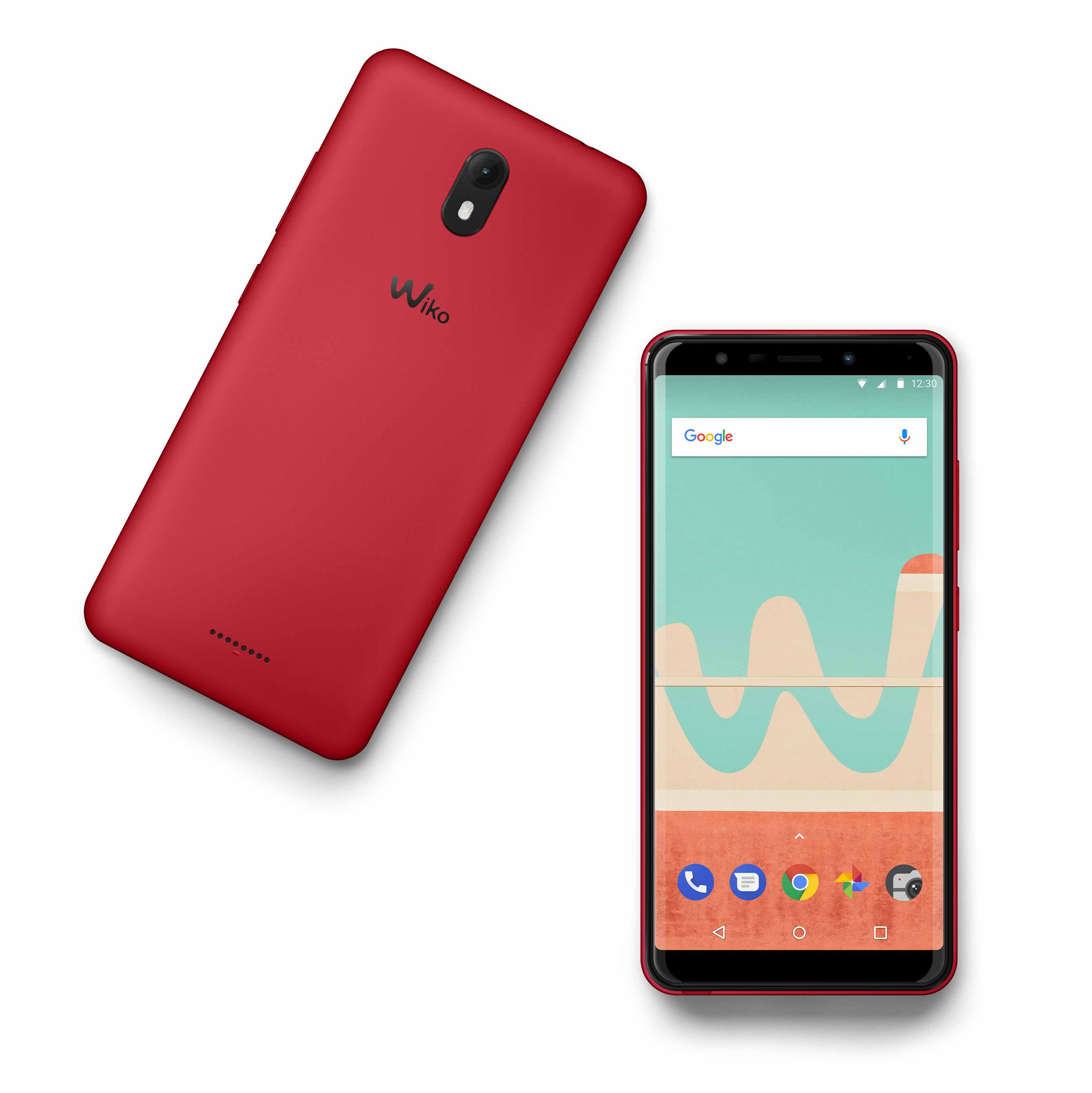 Wiko View in Rot
