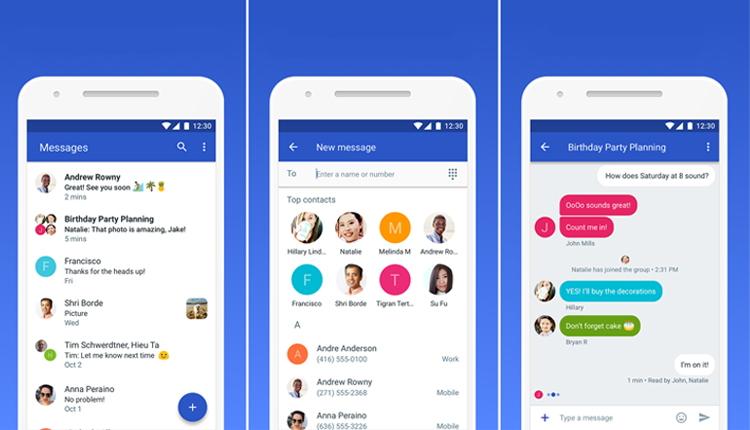 Google Android Messages