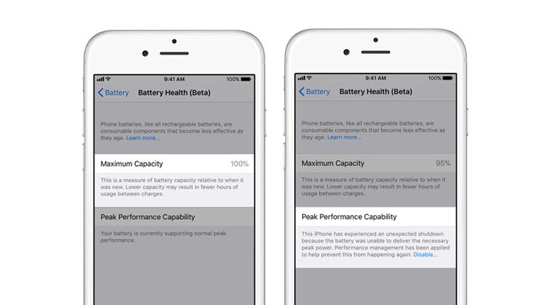 Apple Battery Health