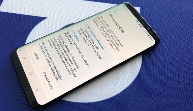 Samsung Galaxy S8 bekommt Update auf Android 8 Oreo
