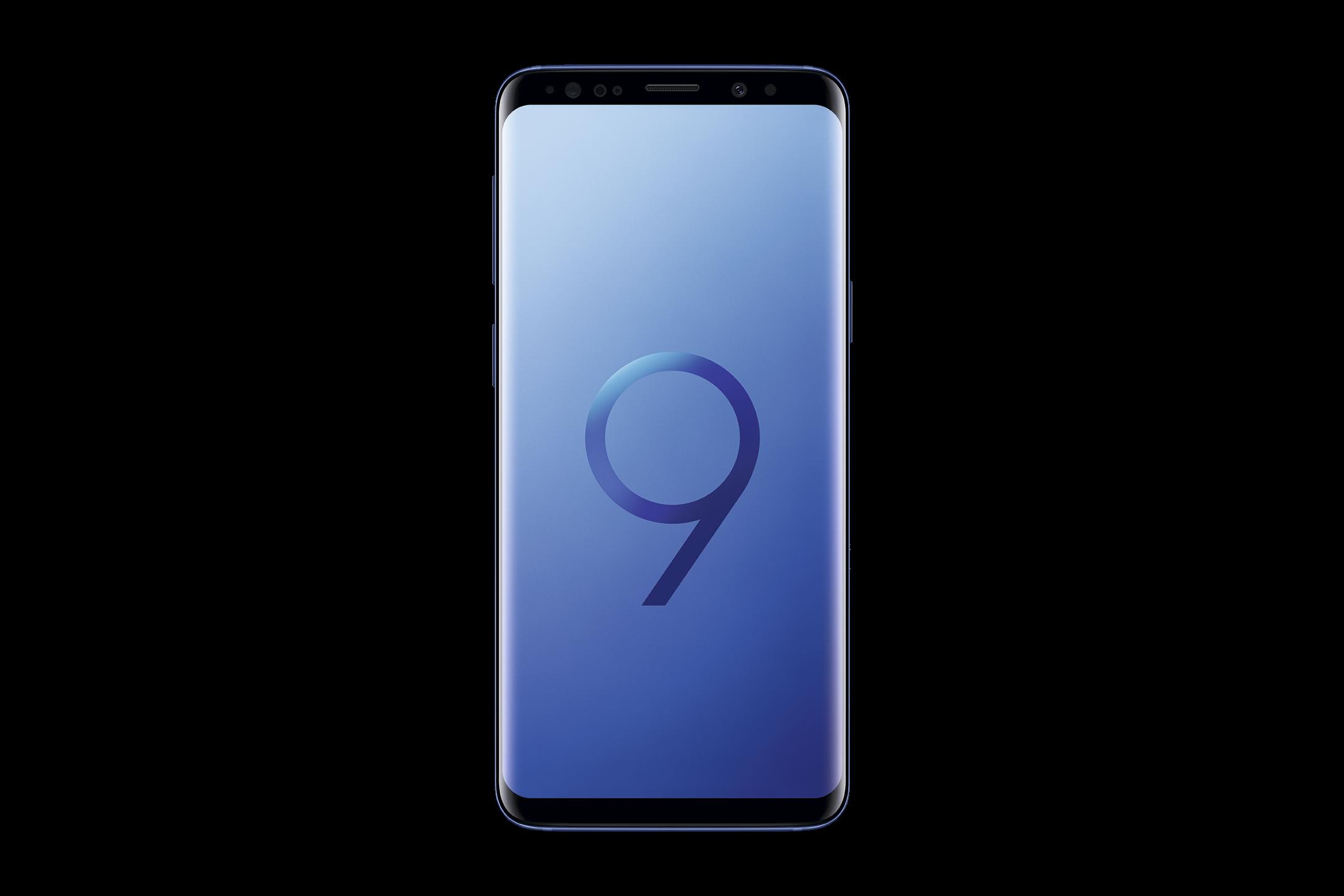 2_Samsung Galaxy S9 in Blau