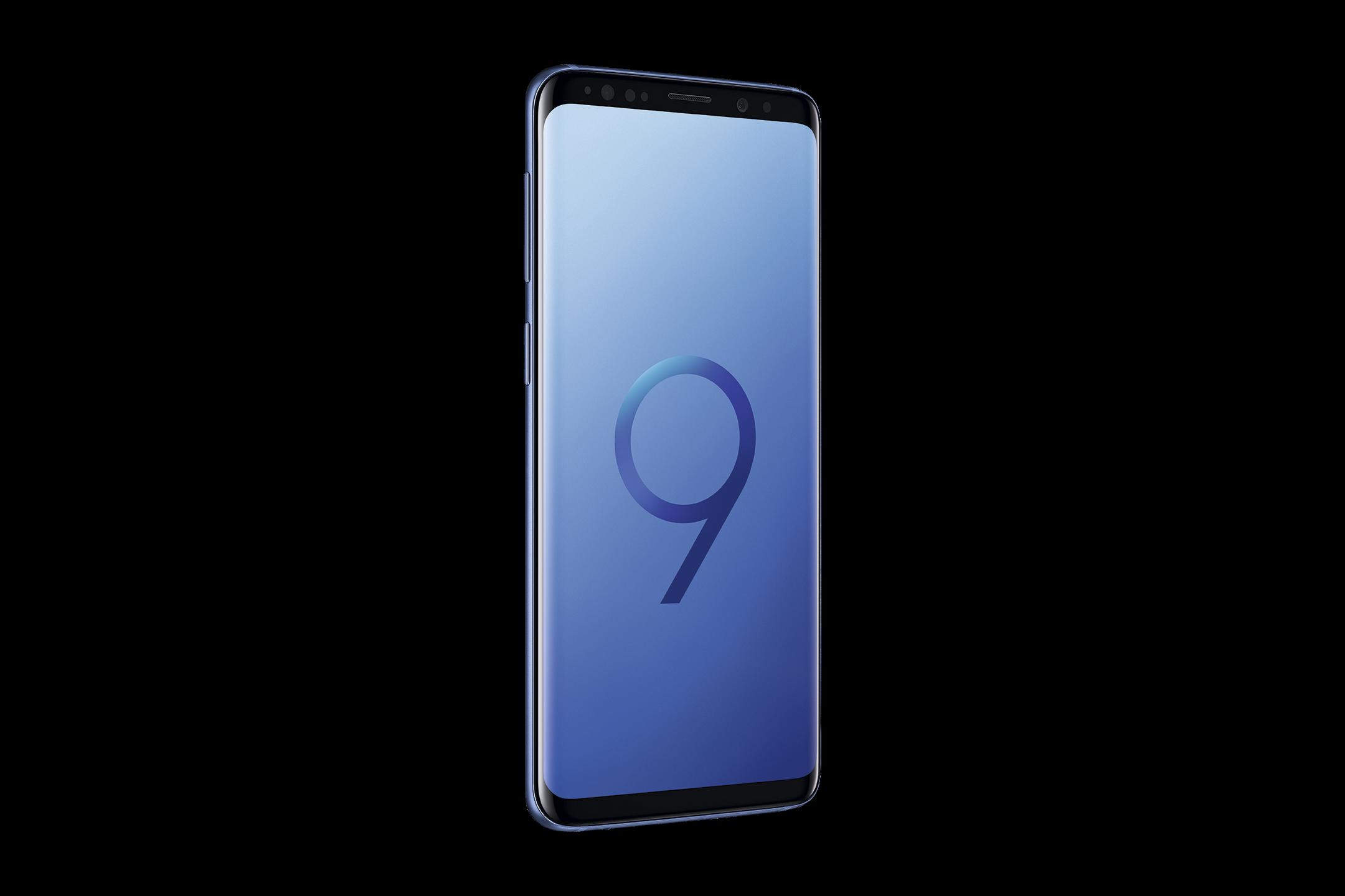 3_Samsung Galaxy S9 in Blau