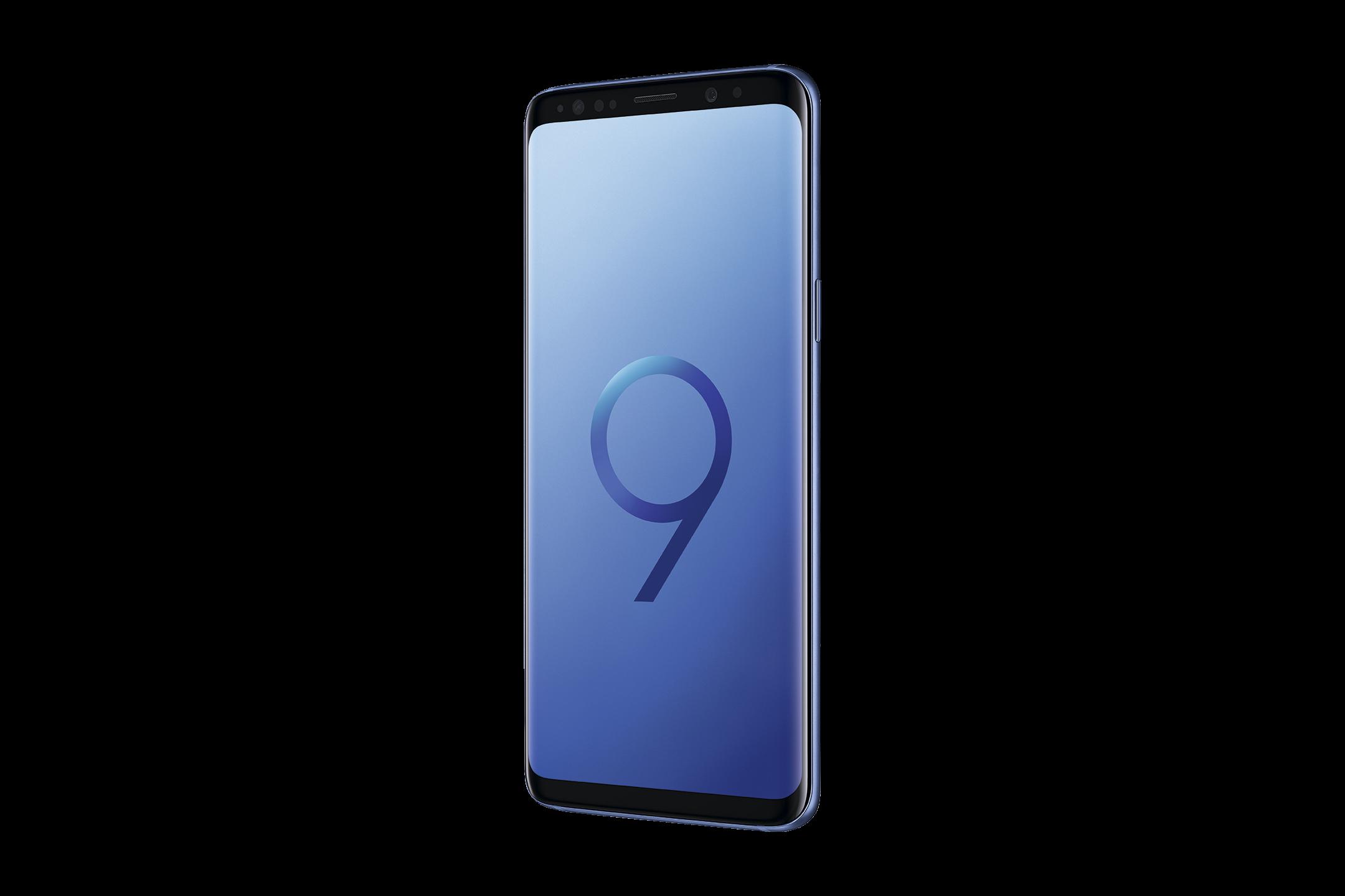 4_Samsung Galaxy S9 in Blau