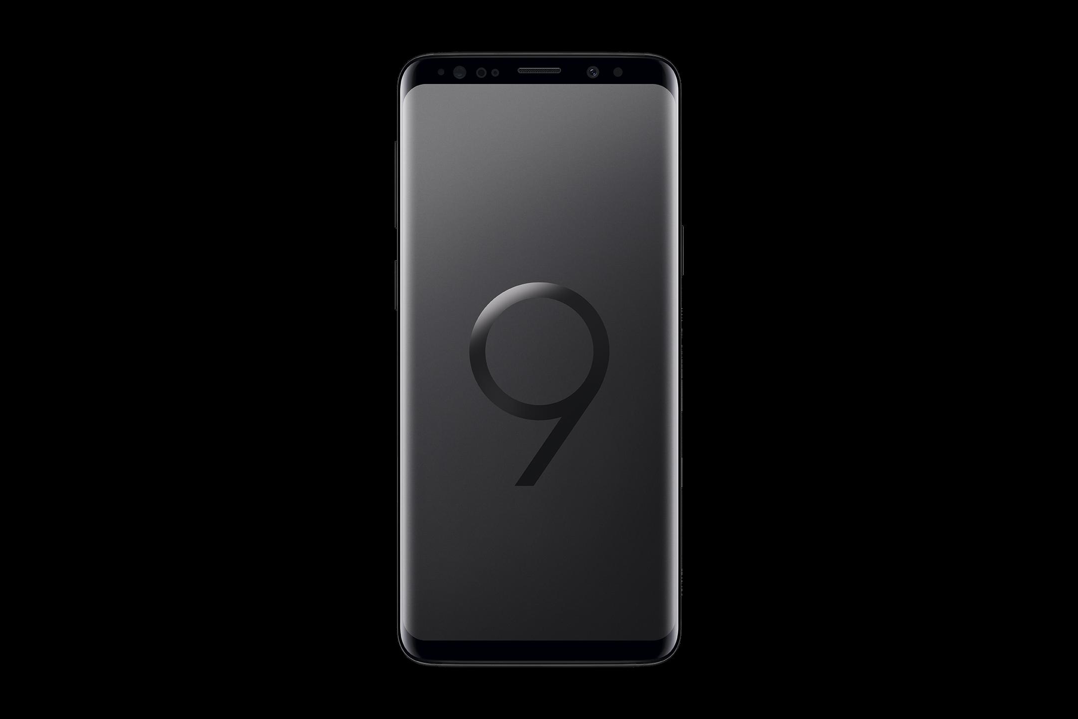 10_Samsung Galaxy S9 in Schwarz