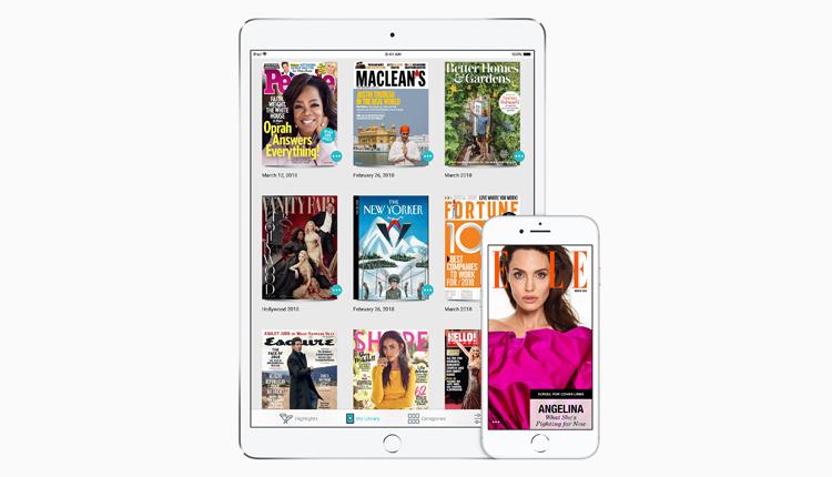 Apple übernimmt den Magazin-Abo Dienst Texture