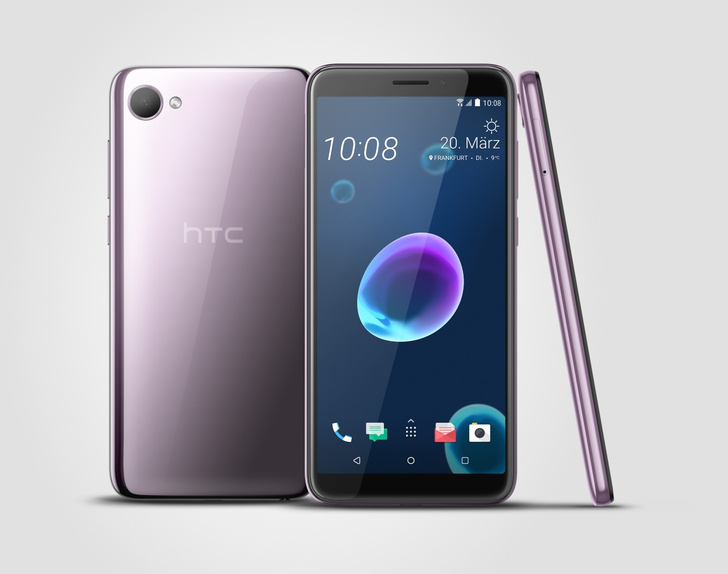 HTC Desire 12 in Lila