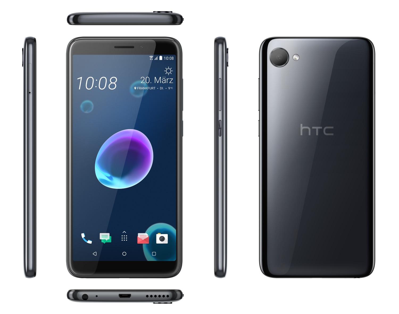 HTC Desire 12 von allen Seiten