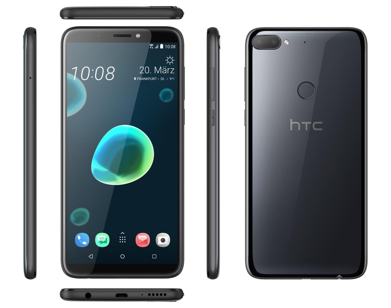 Seitenansicht des HTC Desire 12
