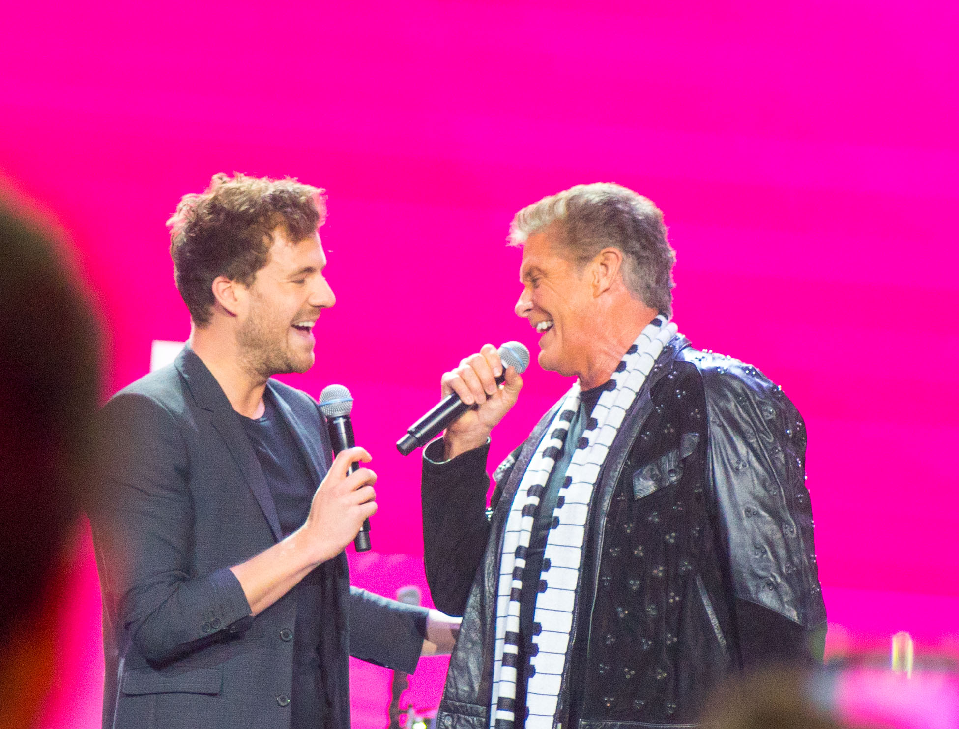 Luke Mockridge und David Hasselhoff