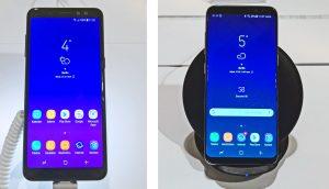 Samsung Galaxy A8 (2018) versus Galaxy S8