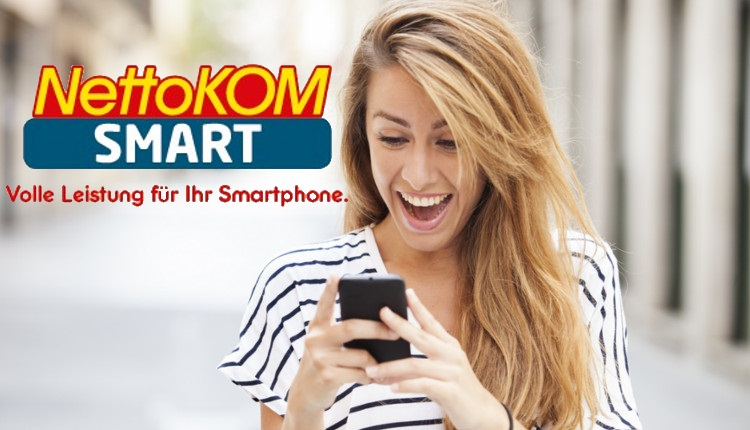NettoKOM erhöht Datenvolumen in Prepaid-Optionen Smart
