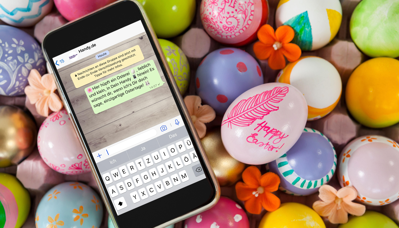 Die Schönsten Ostergrüße Per Whatsapp Versenden Handyde