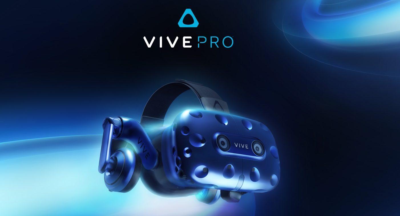 Vive Pro: Neue VR-Brille von HTC