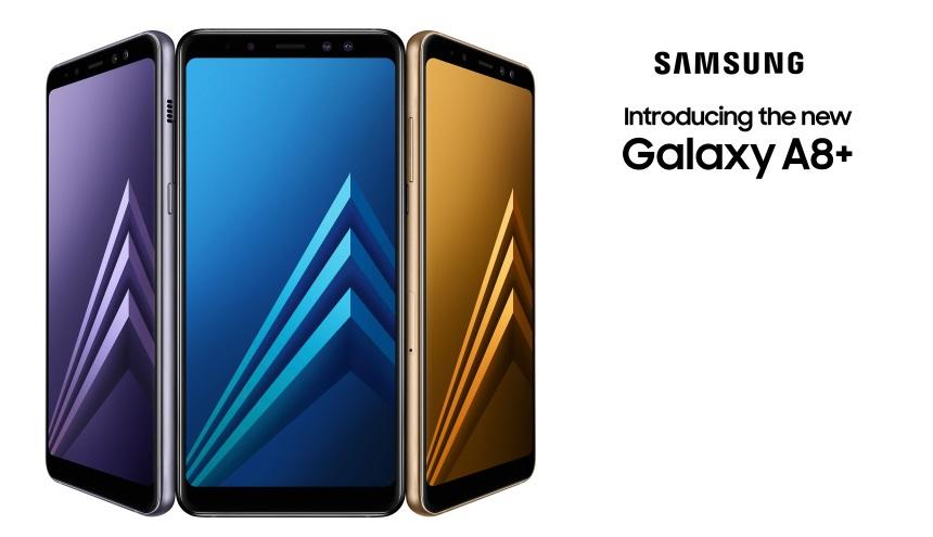 Samsung Galaxy A8 und A8+ (2018)