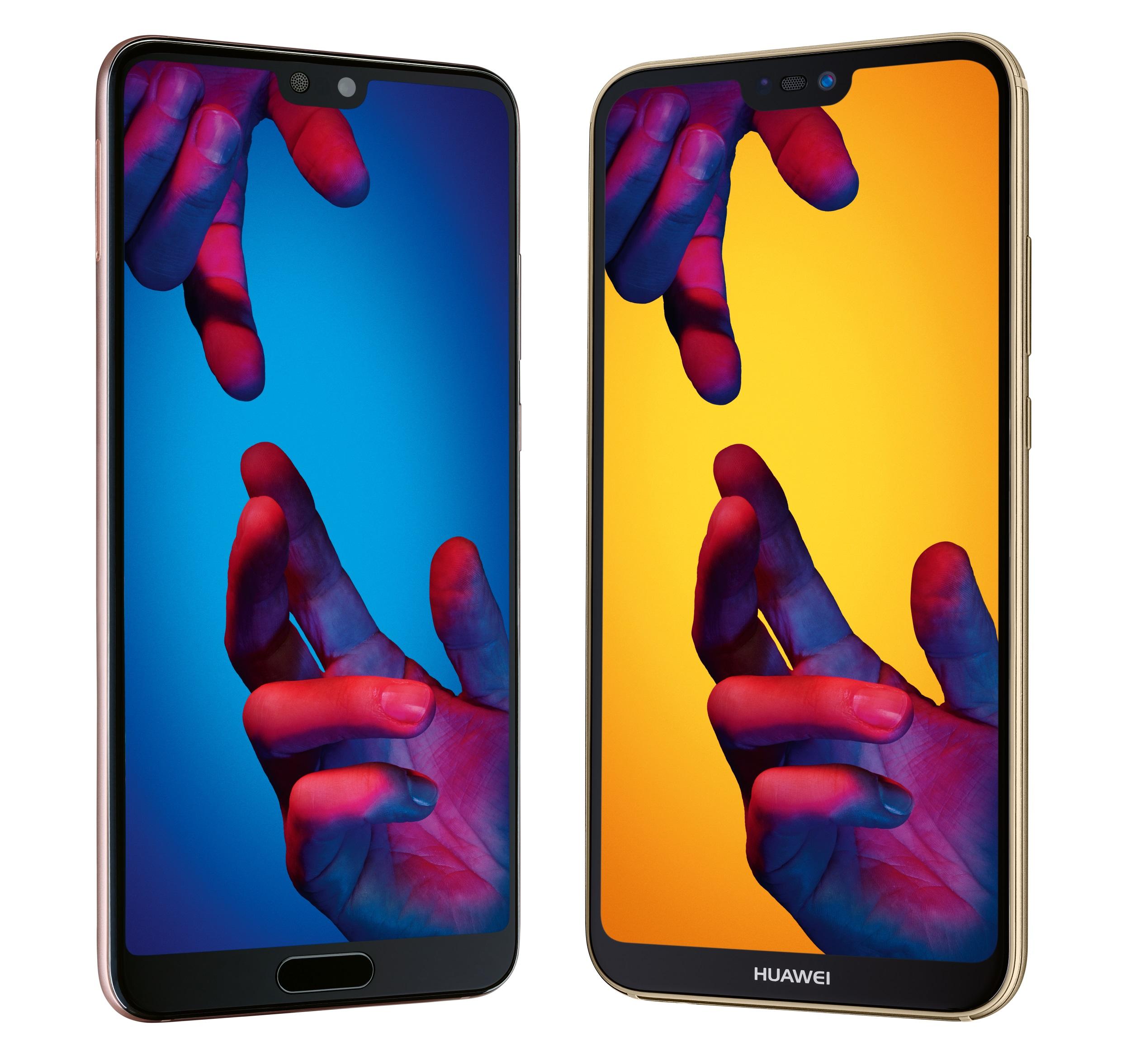 Huawei P20, P20 Pro und P20 lite im Smartphone Vergleich