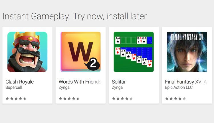 Google Play Instant kommt in den deutschen Play Store