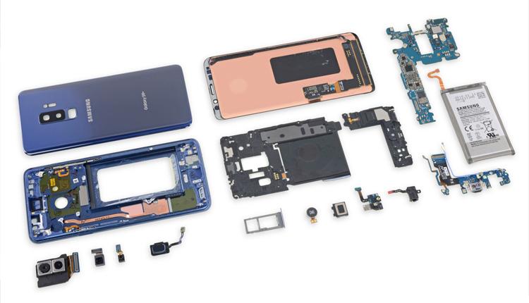 Samsung Galaxy S9+ und S9 zerlegt: iFixit bewertet die Reparierbarkeit der Flaggschiffe