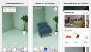 IKEA Place ist ab sofort auch für einige Android Smartphones verfügbar