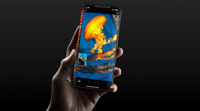 Faltbares iPhone Pro: Konzept