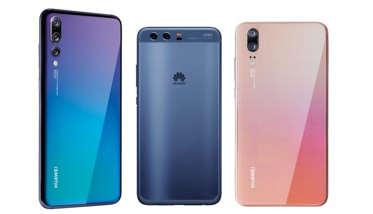 Das Huawei P10 im Vergleich mit dem P20 und P20 Pro