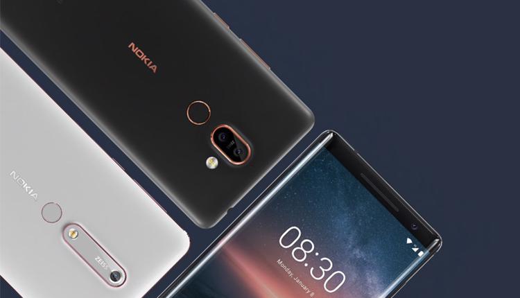 Nokia 8 Sirocco, Nokia 1, Nokia 6 und BNokia 7 Plus erscheinen Anfang April