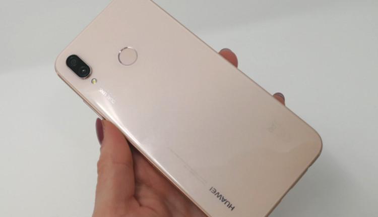 Huawei P20 lite in Sakura Pink im Hands-On