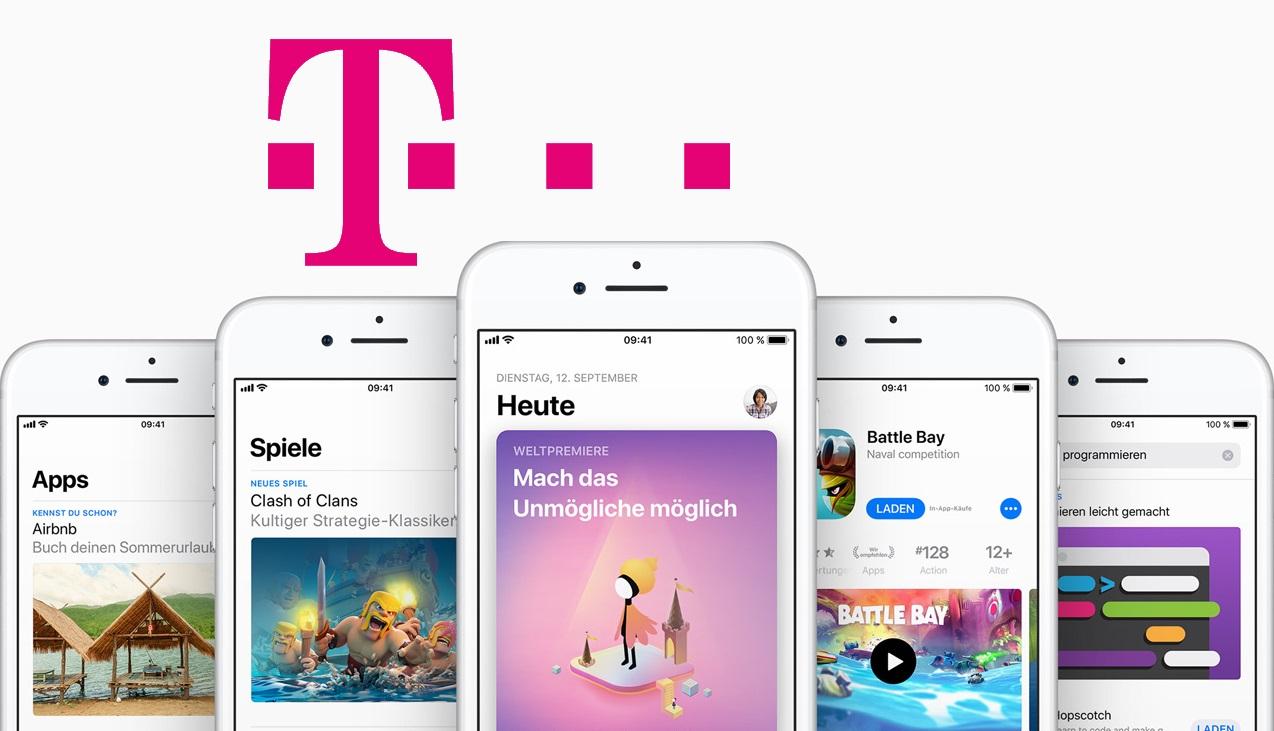 Einkäuge im Apple App Store: Telekom erlaubt das Bezahlen per Handy-Rechnung