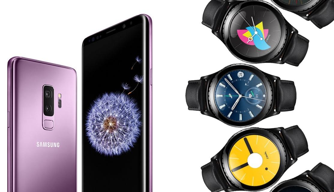 Samsung Galaxy S9 und Gear S2