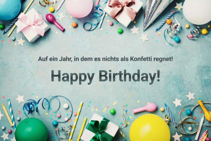 Geburtstagskarte Whatsapp