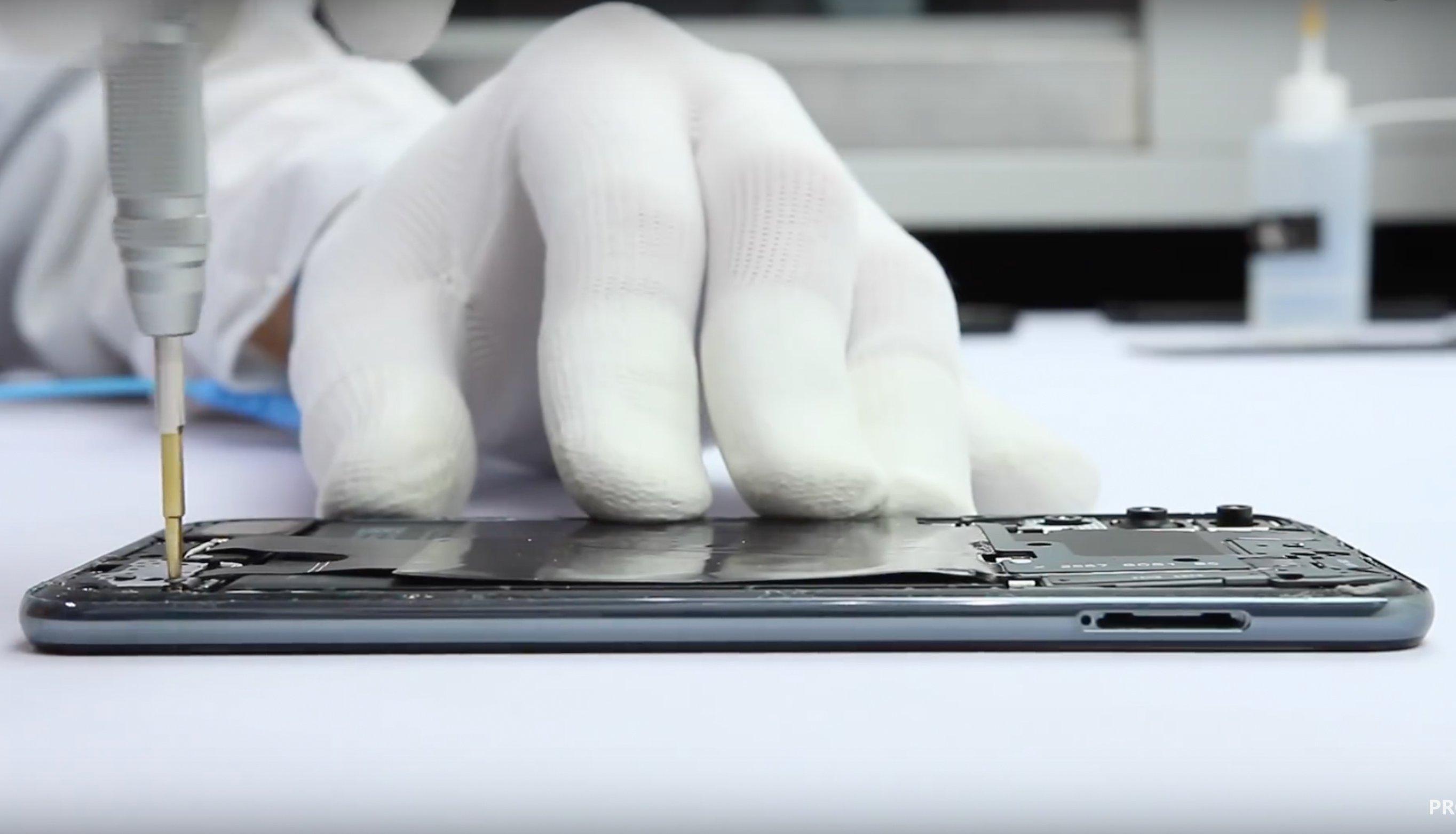 In seine Bestandteile zerlegt: Das Huawei P20 Pro im Teardown