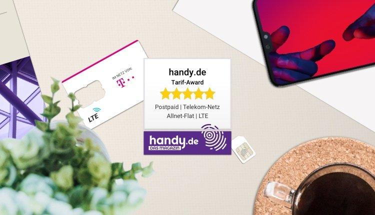 Bester Tarif Postpaid: handy.de vergibt die Tarif-Awards in sieben unterschiedlichen Kategorien