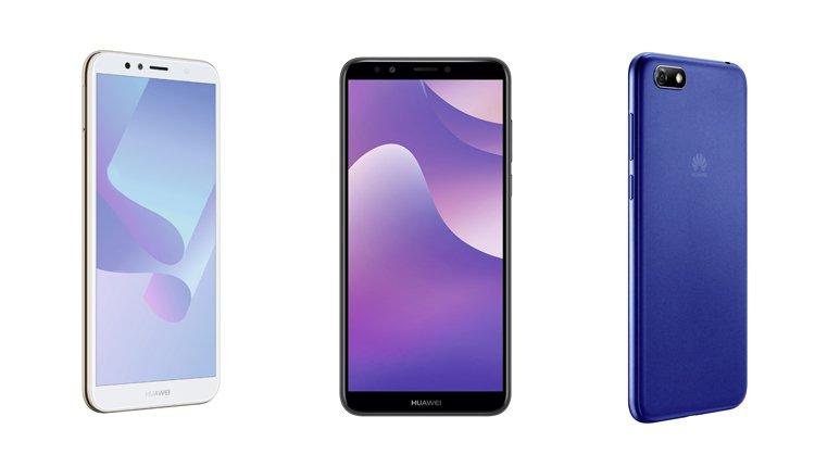 Huawei Y-Serie im Vergleich