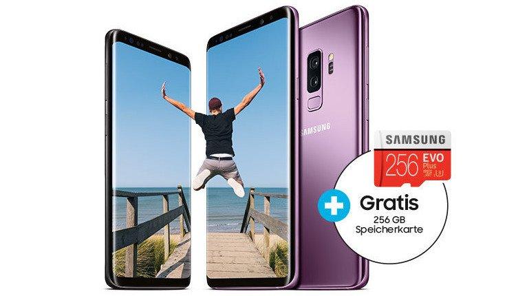 Samsung Galaxy S7 Sd Karte Als Standardspeicher.Beim Kauf Des Galaxy S9 S9 Gratis 256 Gb Micro Sd Karte Handy De