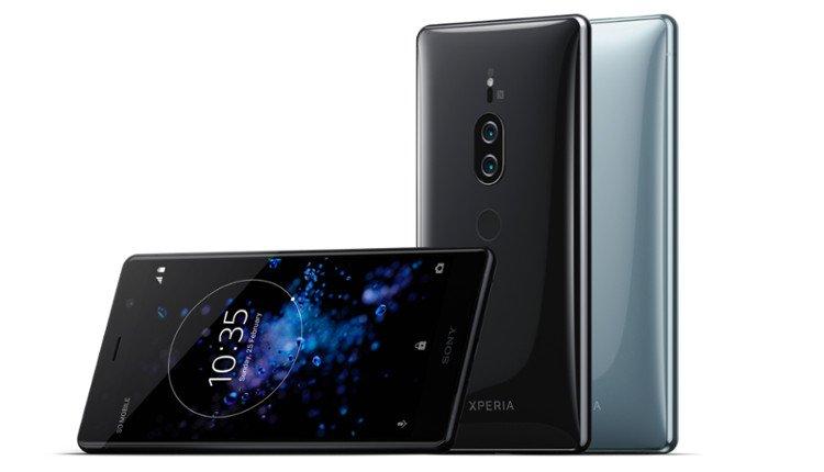 Das Sony Xperia XZ2 Premium in Schwarz und Silber