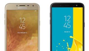 Einsteiger-Smartphones Galaxy J4 und J6 (2018)