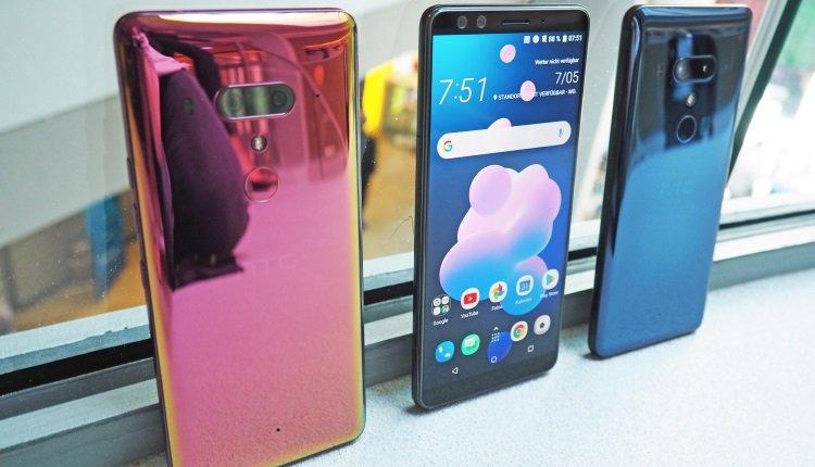Neue Smartphones von HTC: Das HTC U12+
