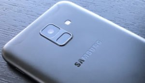 Rückseite Samsung Galaxy A6 (2018)