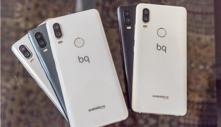 BQ Aquaris X2 und X2 Pro nebeneinander