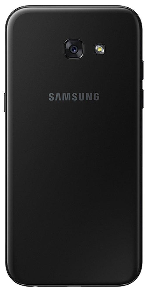 Das schwarze Galaxy A5 (2017) von hinten.