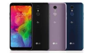 LG Q7: Das neue Mittelklasse-Smartphone kommt in drei Ausführungen